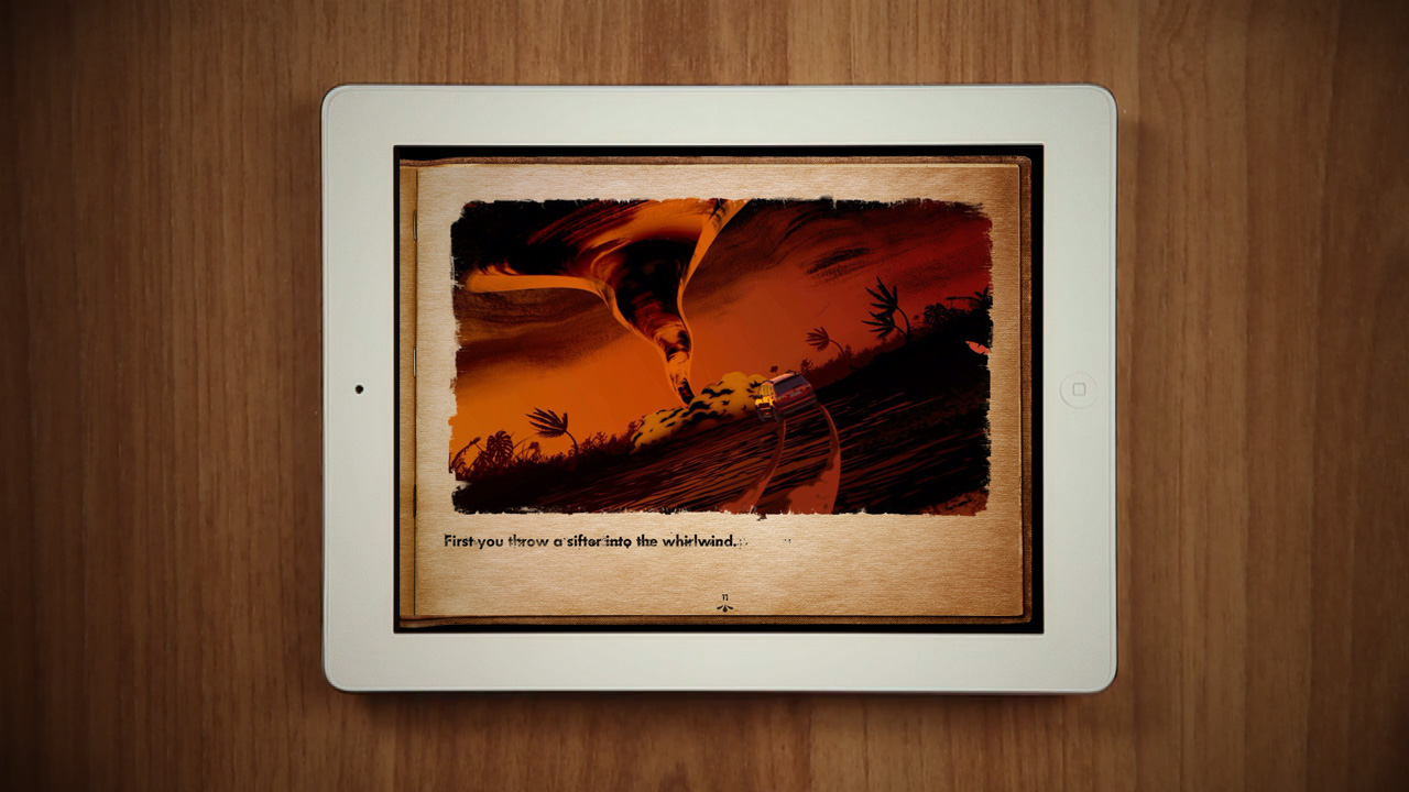 Interactive iPad book.